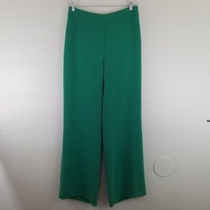 MaxMara NWT Draghi Green Trouser Dress Pants A5